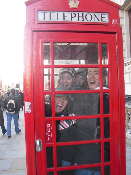 Trapped in a Red Phone Booth – London, England