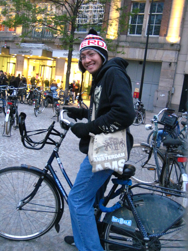Ride a Bike – Amsterdam, Holland