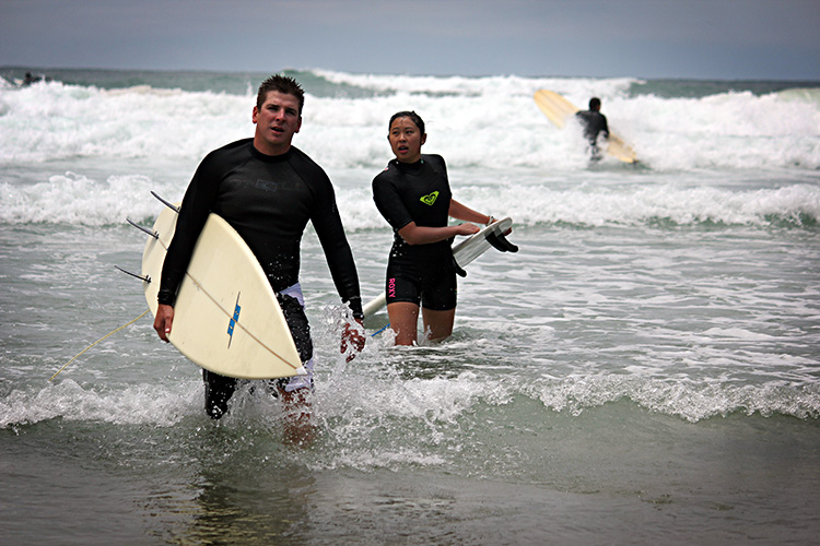 Sandy Mangoes and Sore Nipples: How to Survive Your 1st Surf Trip – San Diego, California