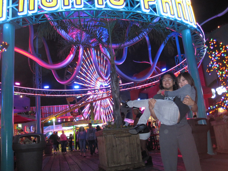 The Santa Monica Ferris Wheel – Los Angeles, California