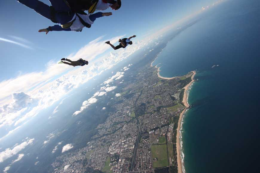 Bucket List: Skydive the Beach – Sydney, Australia