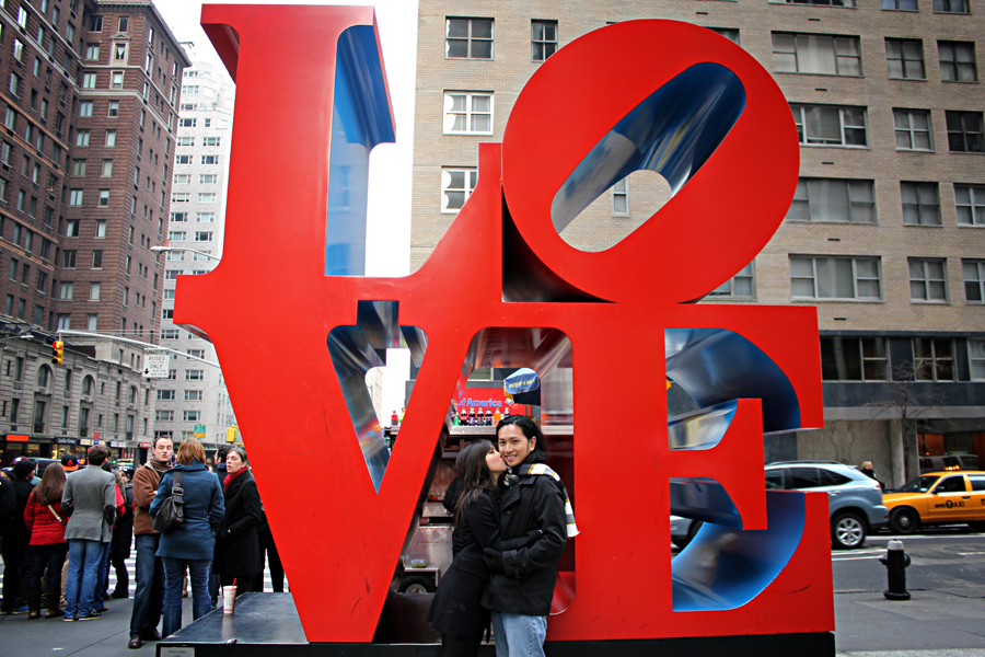 The LOVE Sculpture – New York, New York