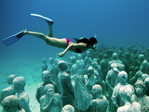 Take a Dive for This Underwater Museum