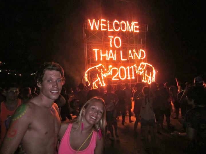 Bucket List: Full Moon Beach Party Ko Phangan, Thailand