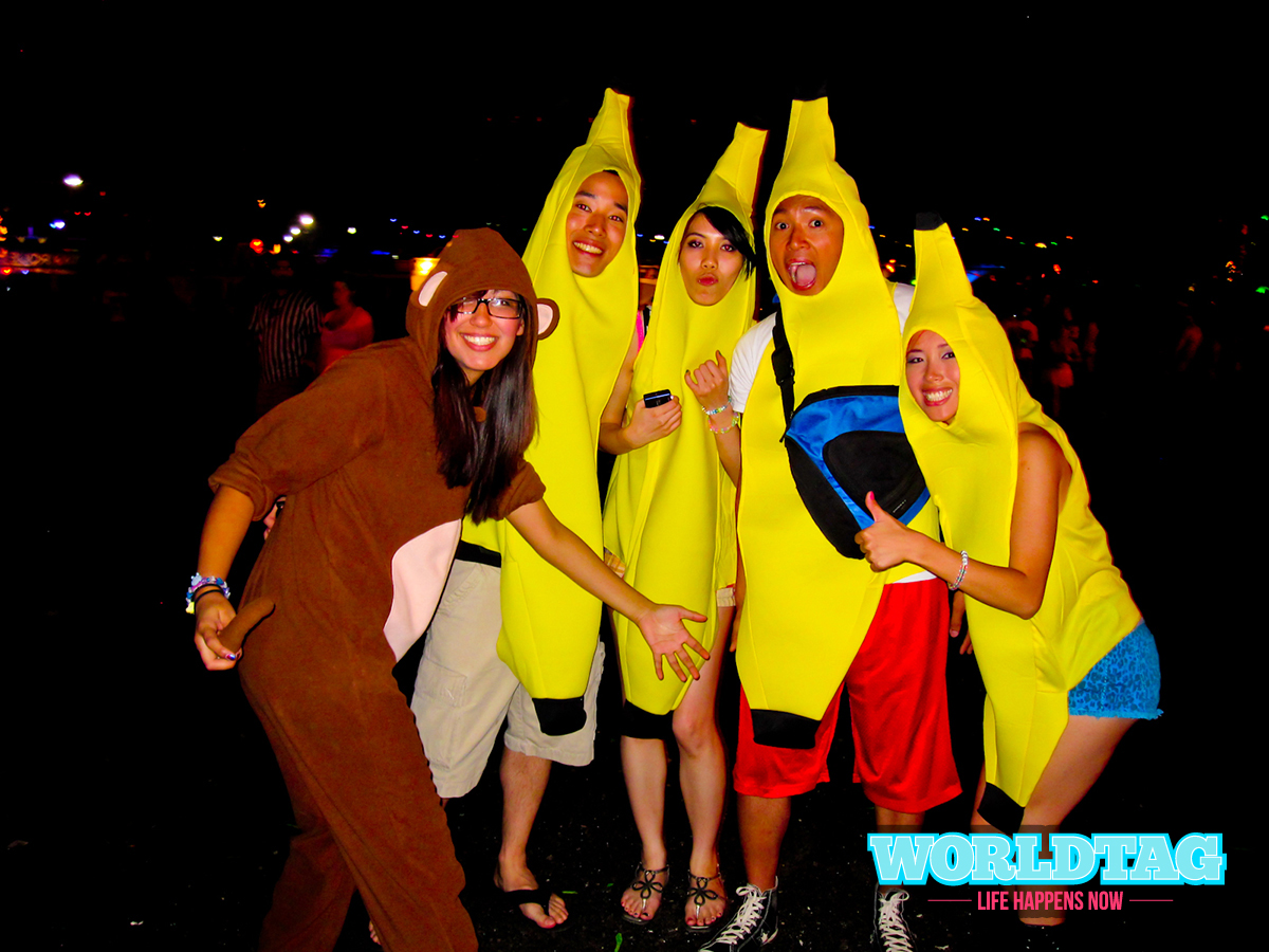 Going Bananas at Electric Daisy Carnival 2012