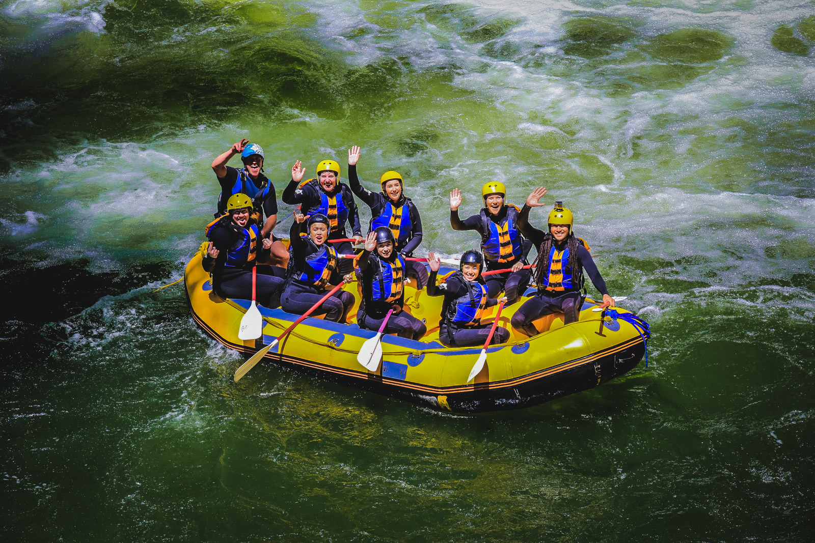 River Rafting in Rotorua, New Zealand